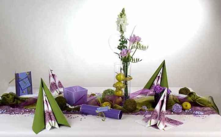 Die etwas andere Tischdeko mediterran zum Geburtstag