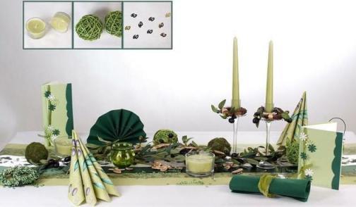 Wunderschne mediterrane Tischdekoration zum Geburtstag  Tafeldeko