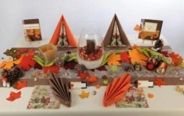 Trendige Tischdeko fr den Herbst  neu eingetroffen