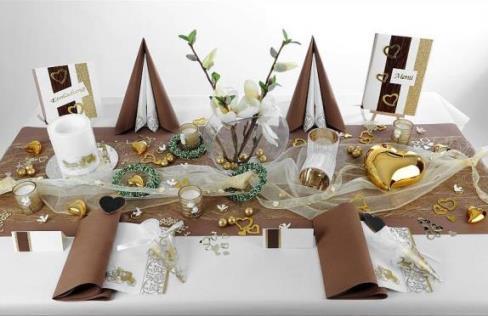 Traumhafte Hochzeits Tischdeko  Tafeldeko