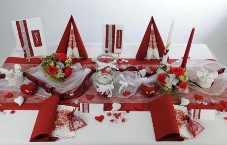 Atemberaubende Tischdekoration zur Hochzeit  Tafeldeko