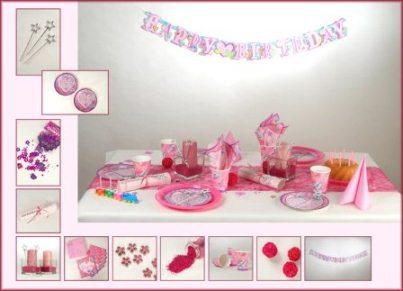 Die Tischdeko fr den Kindergeburtstag soll zum Motto der Party passen  Tafeldeko