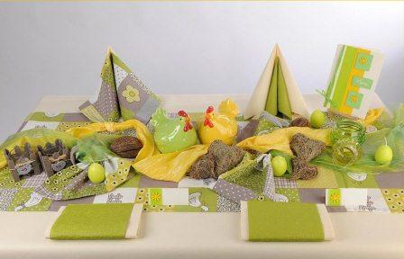 Schon langsam an die Tischdeko fr Ostern denken  Tafeldeko