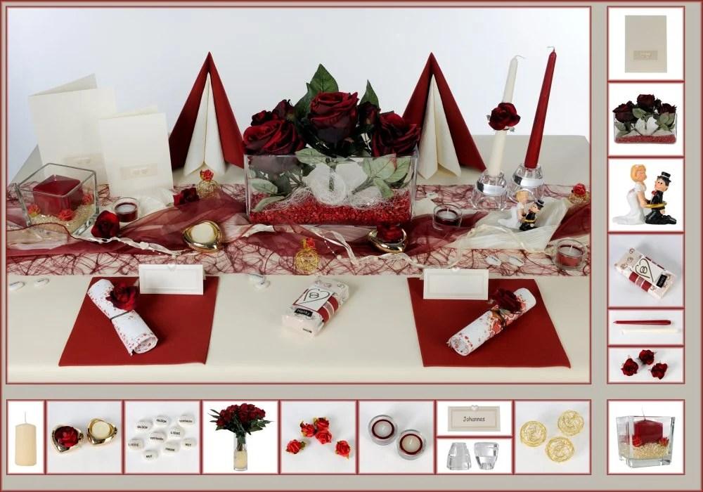 Hochzeit Tischdeko in Bordeaux  Tafeldeko