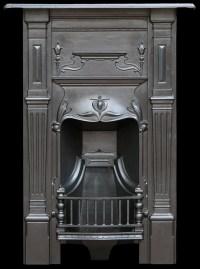 Vintage bedroom fireplace - Old fireplaces