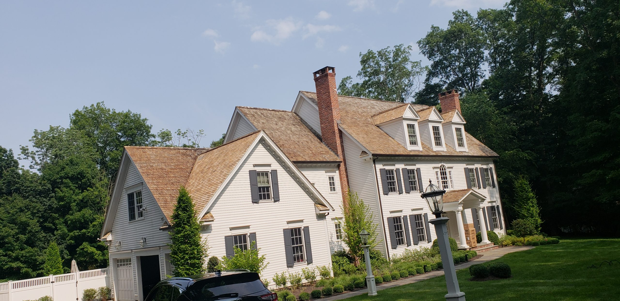 roof soft washing of Fairfield Connecticut