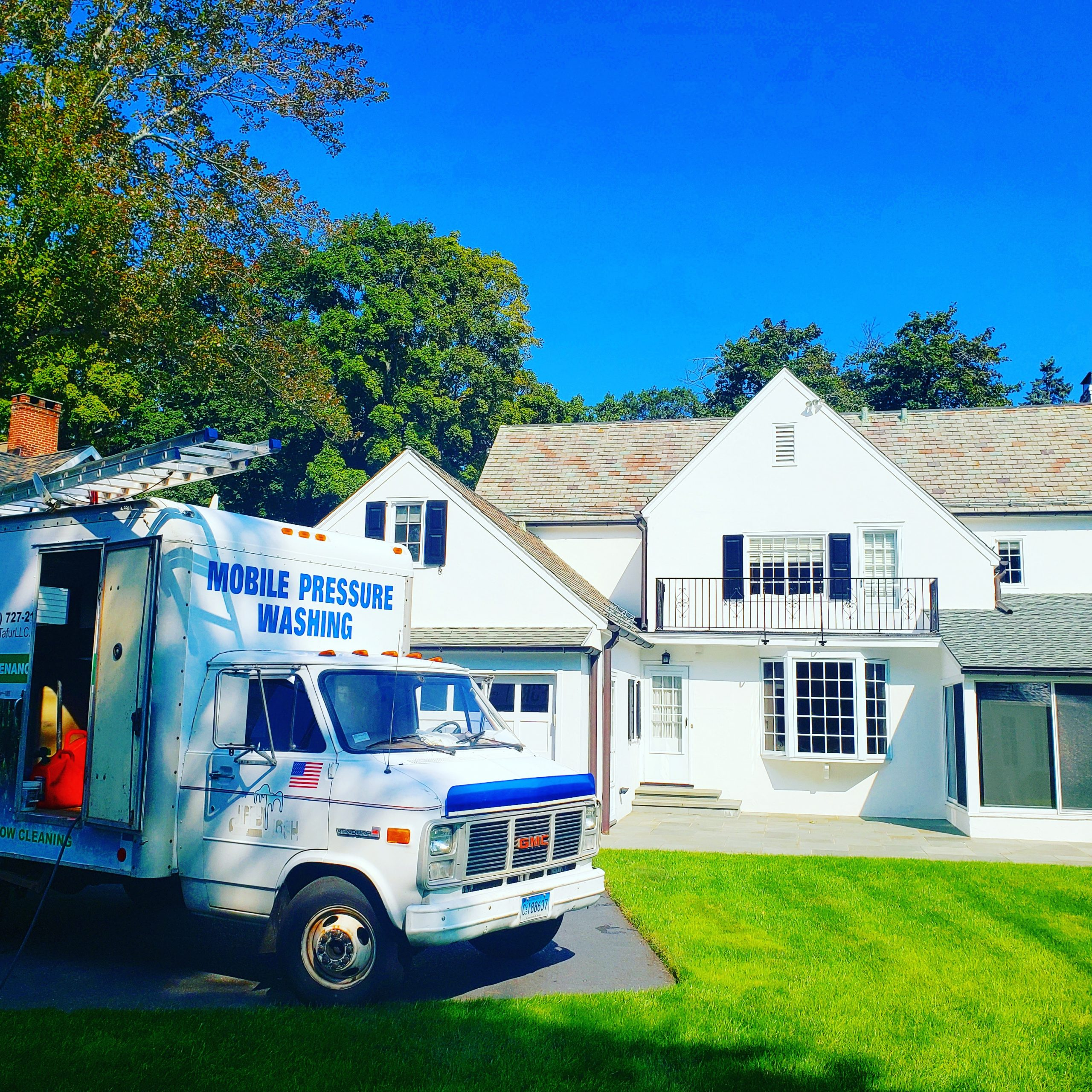 New Canaan, CT power Washing