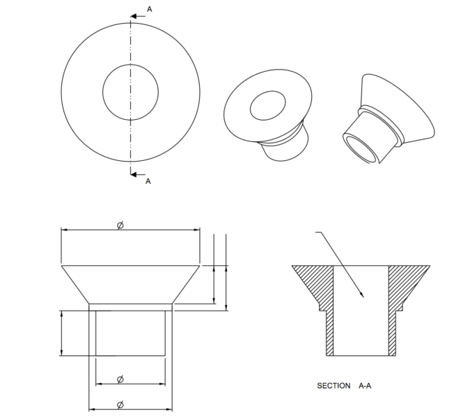 TAG.Engineering Develop:Custom Parts #4 / Stainless Spacer