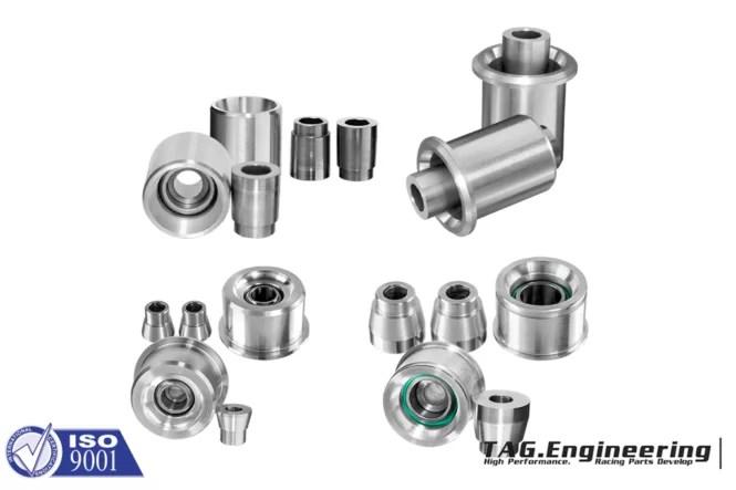 10 Pcs High Quality Rear Suspension Bushing Set (Uniball