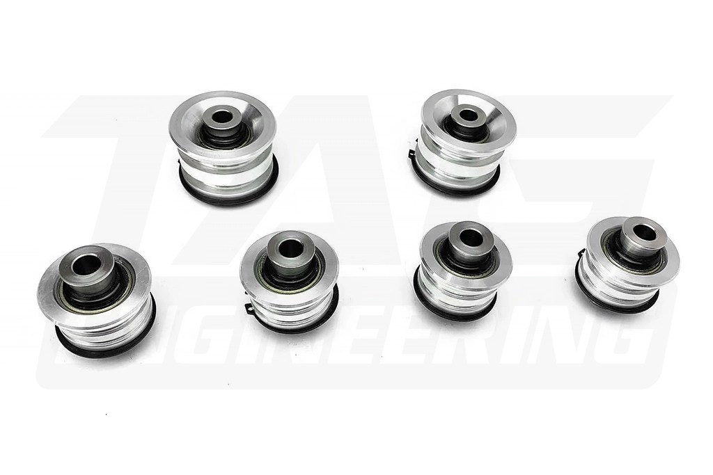 6 Pcs High Quality Rear Suspension Bushing Set (Uniball