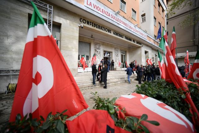 le violenze di roma e i commenti di salvini e meloni sulla sinistra
