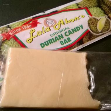Lola Abon's Durian Candy Bar