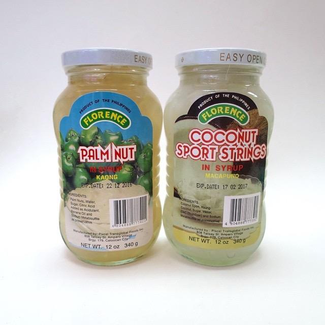 Bottled Kaong and Macapuno