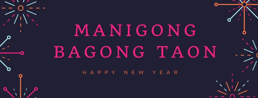 'Happy New Year'  in Tagalog