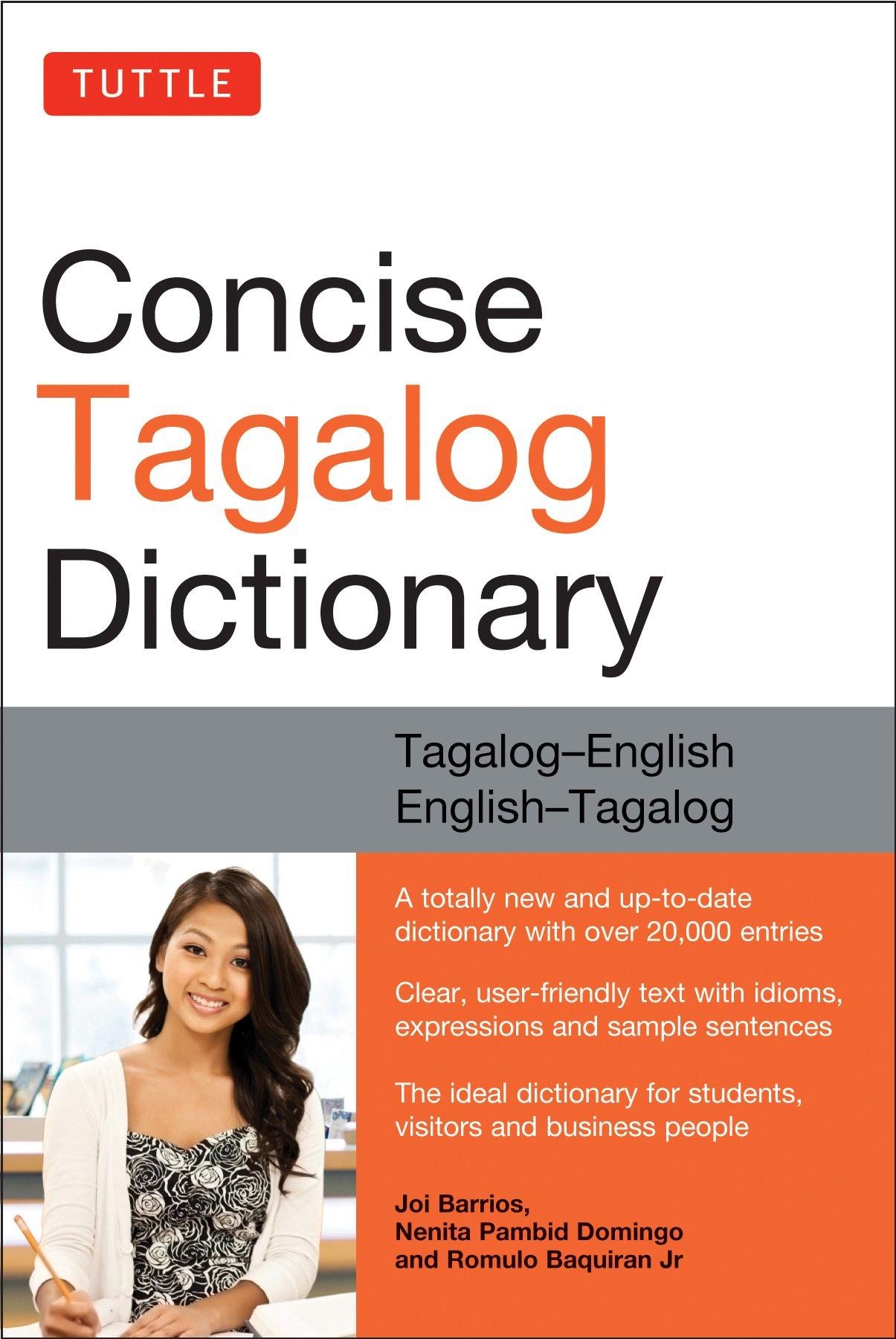 Dictionary in Tagalog: Talatinigan = Diksyunaryo = Talahulugan