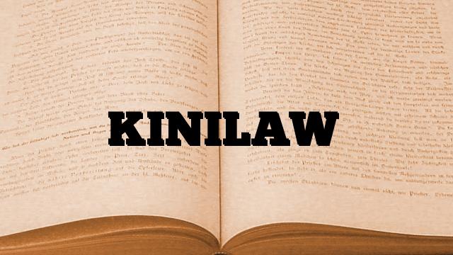 KINILAW