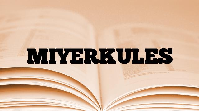 MIYERKULES