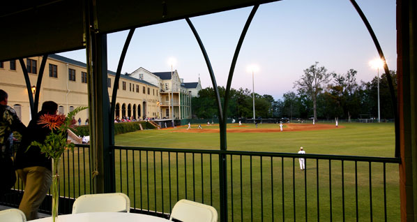 Spring Hill College Stonisch Baseball Fieldhouse  the