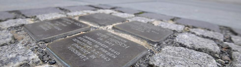 Stolperstein monuments in Berlin, AFP photo