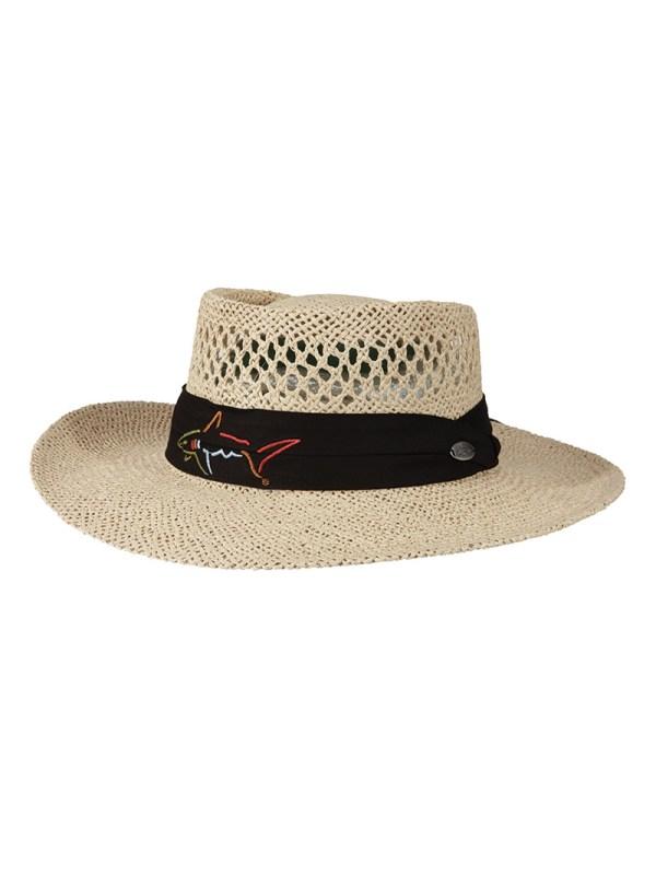 Straw Golf Hats Tag