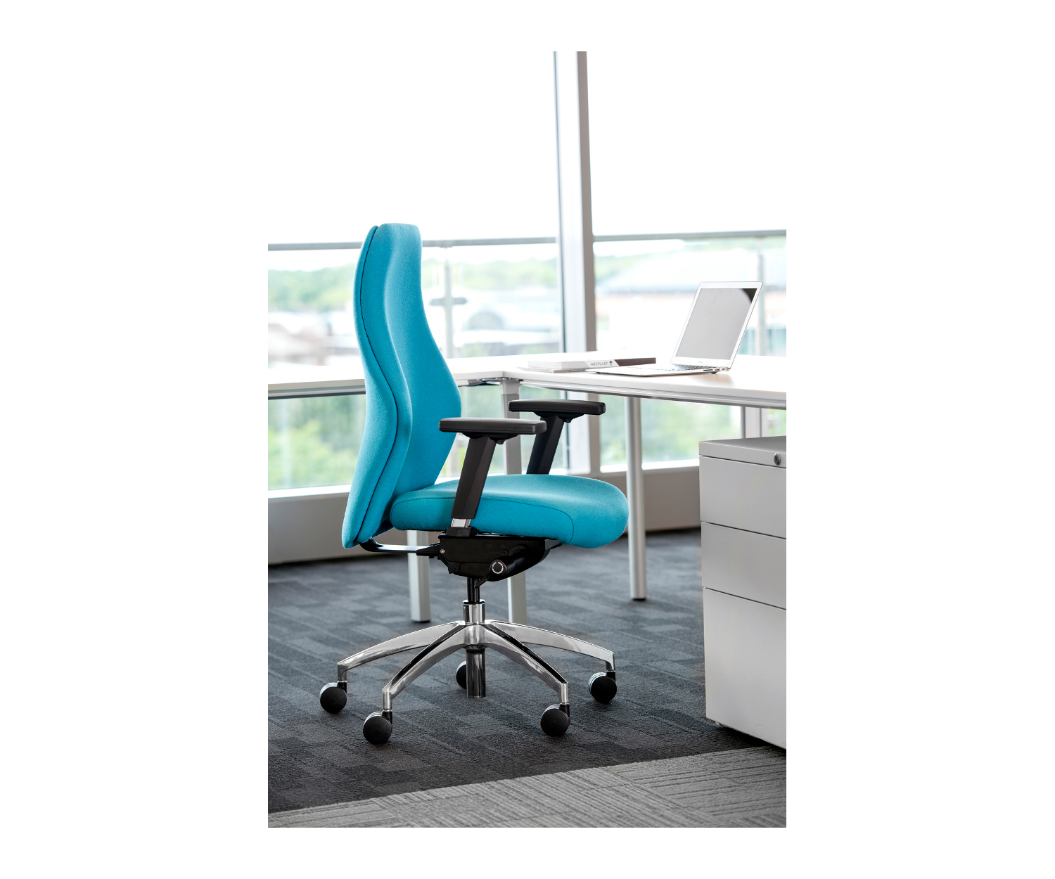 add on headrest for office chair blue bay rum price ergonomic - high density foam & very comfortable
