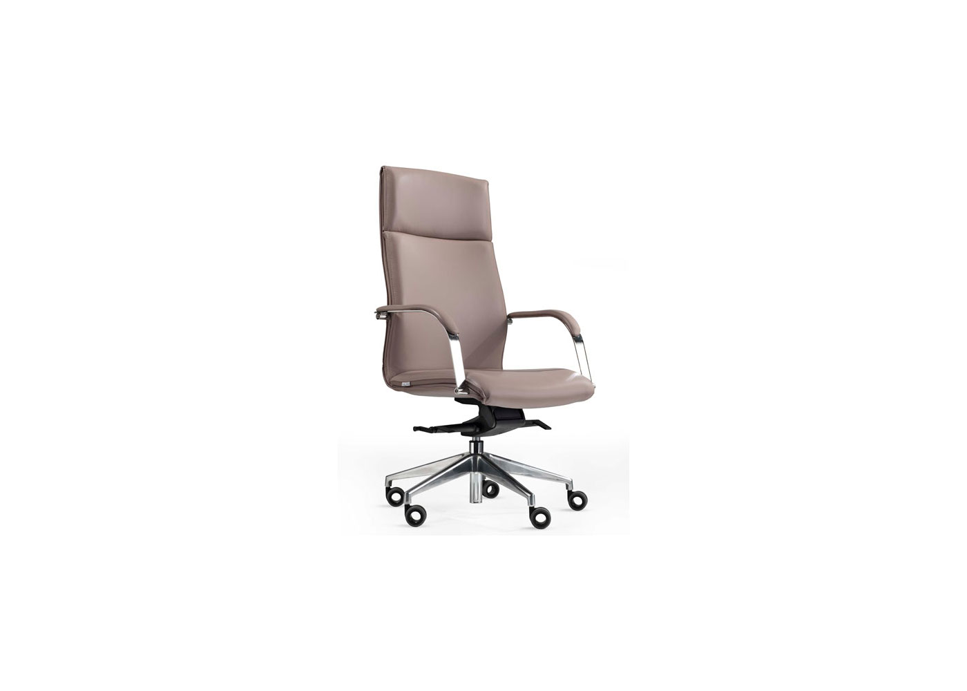modern grey leather office chair butterfly covers etsy milan the sleek or fabric executive
