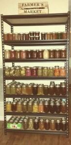 canning shelf