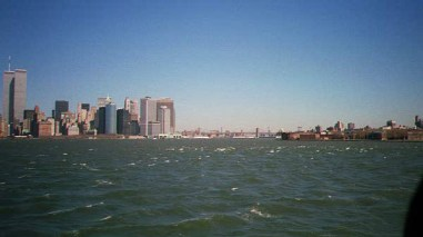 WTC from Staten Island Ferry