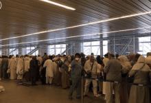 Photo of وصول أولى رحلات الحج إلى المدينة المنورة