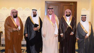 Photo of الأمير أحمد بن فهد يستقبل منسوبي هيئة الأمر بالمعروف والنهي عن المنكر