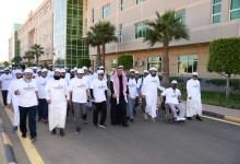 Photo of مدير جامعة الملك خالد يشهد إطلاق نادي البرمجة وفعالية المشي بعمادة شؤون الطلاب