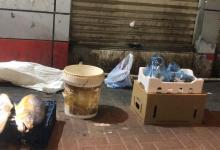 صورة الجبيل..مصادرة 55 بسطة مخالفة و 440 كرتون خضروات وفواكه