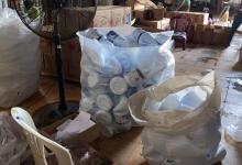 صورة الدمام: ضبط 15 ألف لتر و300 علبة من المنظفات والمطهرات المجهولة وإغلاق 15 ورشة مخالفة