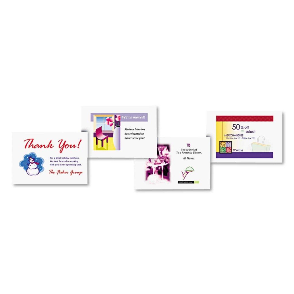 4 Per Sheet Label Template and 10×13 Envelope Template Virtren