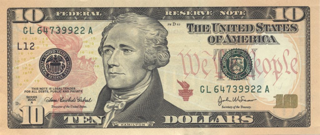 50 Dollar Bill Template and File Us10dollarbill Series 2004a Wikimedia Mons