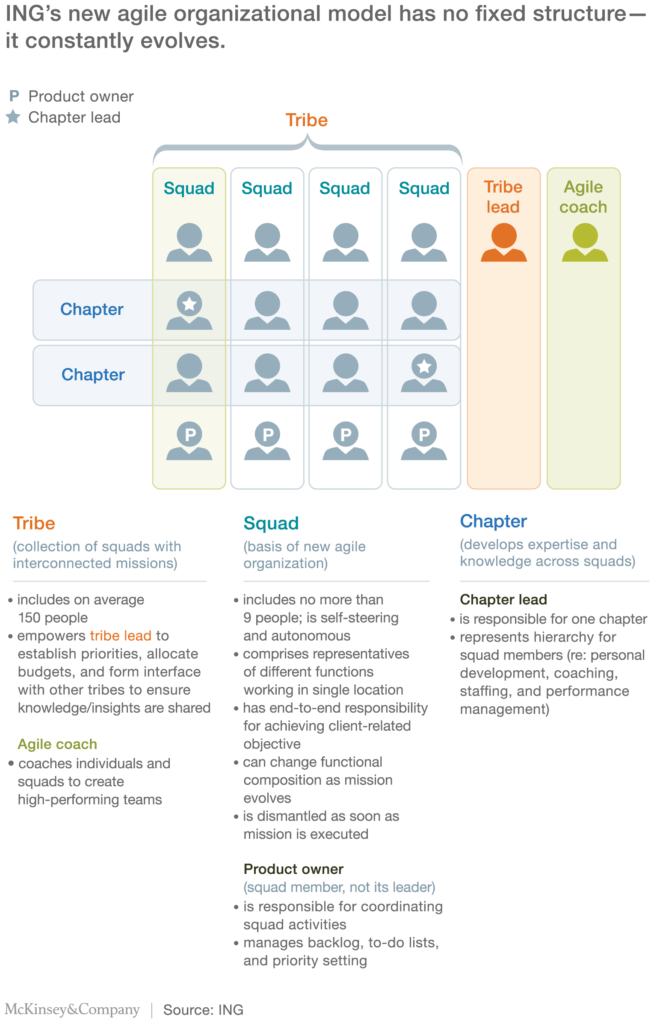 Agile Project Status Report Template and Ing S Agile Transformation Mckinsey Pany