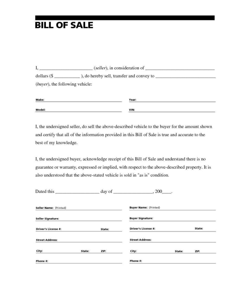 Auto Estimate Template and Texas Auto Bill Of Sale form Pdf and Free Car Bill Of Sale