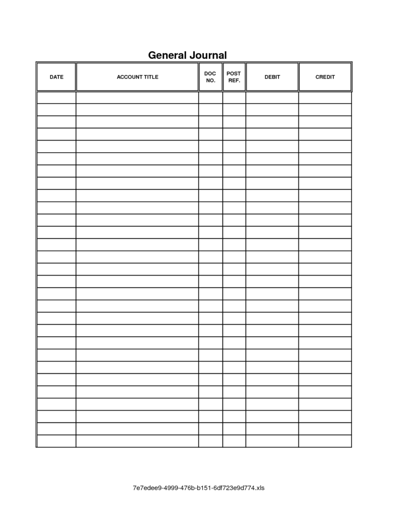 Balance Sheet Account Reconciliation Template Excel and Accounting Journal Template Spreadsheet Templates for Business
