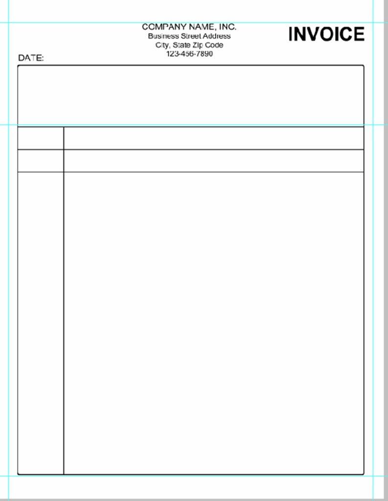 Bill Estimate Template and Quickbooks Invoice Template Excel Invoice Sample Template
