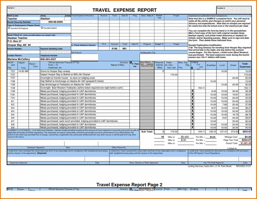 Bills Spreadsheet Template and Personal Tracker Templates Tracking Expense Spreadsheet