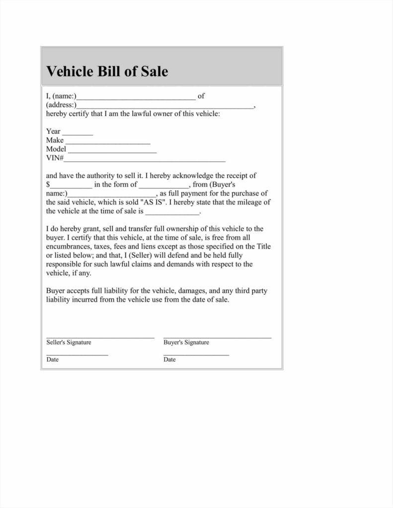 Business Bill Of Sale Template and 100 Free Automobile Bill Of Sale Template Sales Invoice