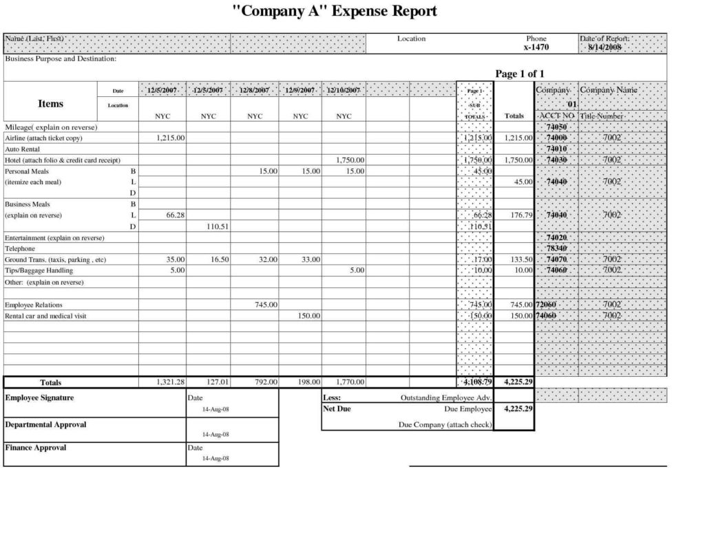 Business Monthly Expenses Spreadsheet and Small Business Spreadsheet for In E and Expenses Laobingkaisuo