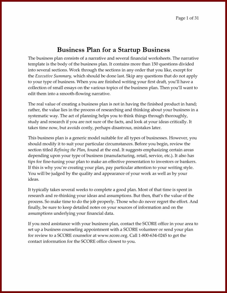 Business Plan Template Excel Free Download and Writing A Business Plan Free Financial Template Excel and Pdf
