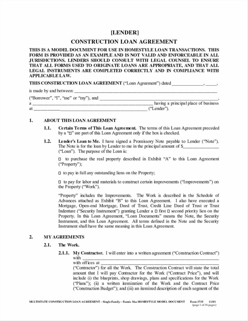 Business Term Sheet Example and Small Business Loan Contract Between Friends Teacher Student