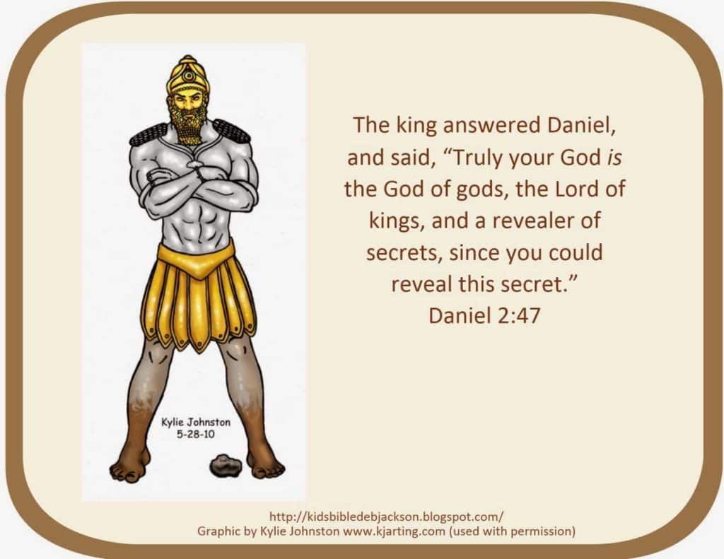 Children's Bible Study Worksheets and Bible Fun for Kids Daniel Nebuchadnezzar S Dream