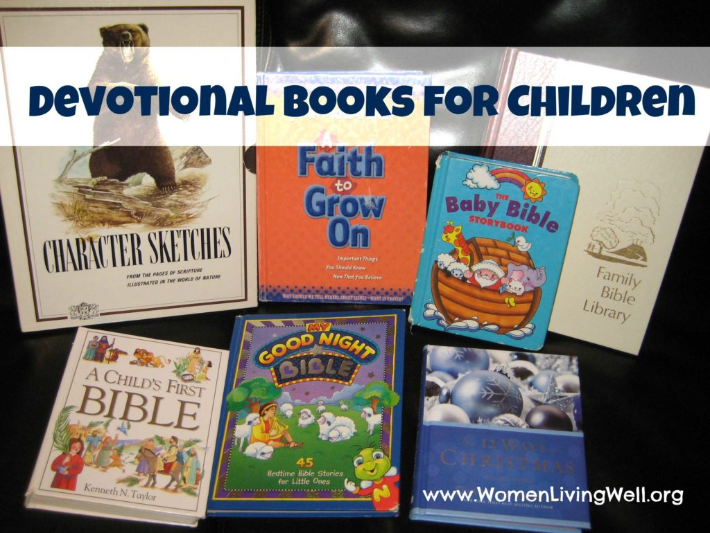 Children's Bible Study Worksheets and Devotional Books for Children Women Living Well