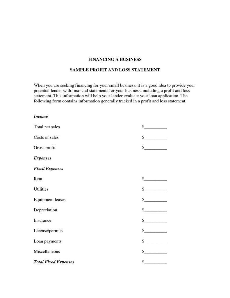 Church Balance Sheet Sample and Spreadsheet