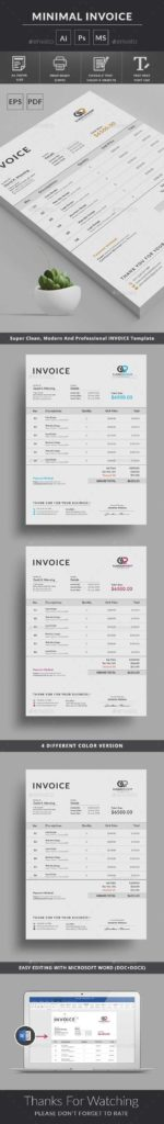 Cleaning Invoice Sample and Best 25 Invoice Template Ideas On Pinterest Invoice Layout