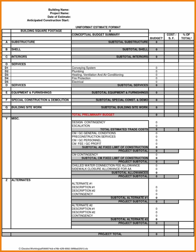 Collision Repair Estimate Template and Template Hr Cover Letter Collision Repair Cehaer Spreadsheet