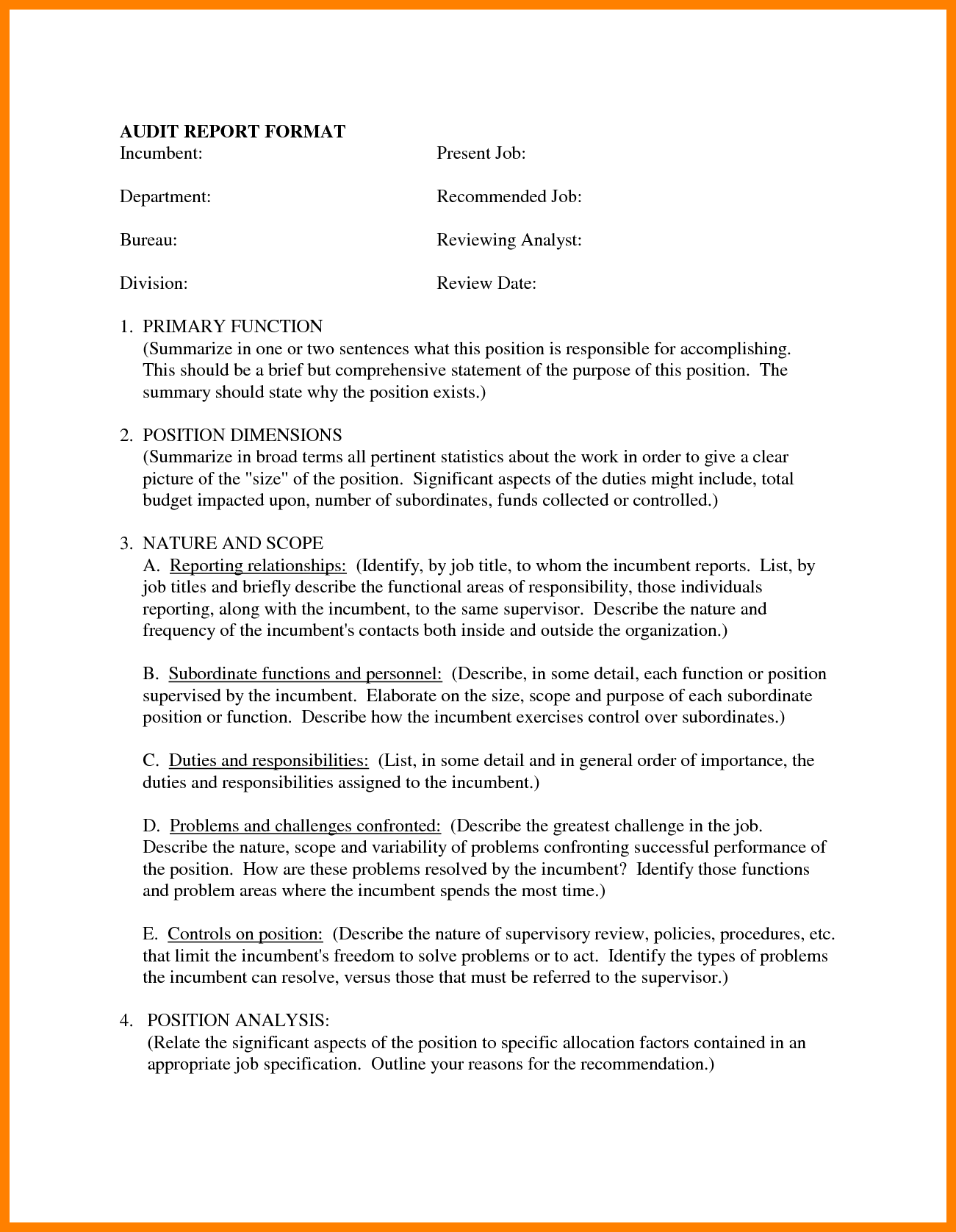 Data Analysis Report Sample and 13 Report Sample format Coaching Resume